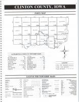 Index Map, Clinton County 1990